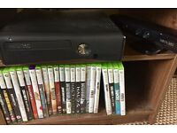 Xbox 360 mega bundle with Kinect + 4 controllers + 34 games- collection Maidenhead