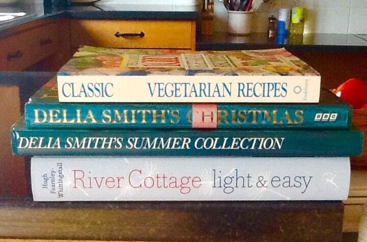 4 cookery books in very good condition