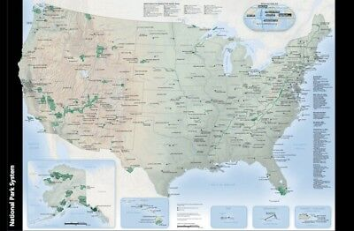 Centennial (2016) National Parks Map and Guide