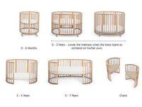 Stoke Sleepi, cot/toddler/junior bed