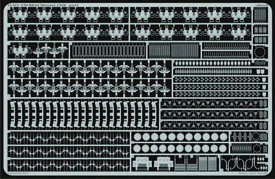 Eduard Accessories 53021 - 1:350 Uss Bb-63 Missouri Für Tamiya-Bausatz - Ätzsatz