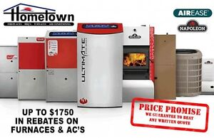 CANADIAN MADE FURNACES, INSTALLED FOR AS LOW AS $1100 TAX IN**