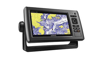 Garmin echoMAP 73sv Marine GPS with ClearVu and SideVu Transducer 010-01387-02