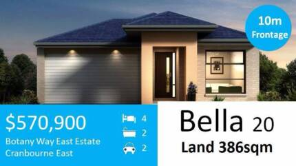 OFF PLAN Cranbourne East house+land packages 3.8% rental yield