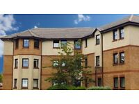 Spacious 2 Bedroom flat in sought after area of Prestwick with security entry and private parking