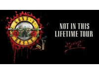 Guns n Roses tickets x2, Fri 16th June 2017, London Stadium