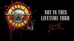 4 Guns n Roses tickets for sale - Sept 1