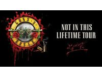 Guns N' Roses London, Golden Circle and general standing tickets
