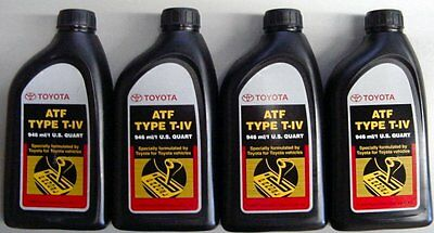 4 Quarts Toyota / Scion Automatic Transmission Fluid Type-4 ATF - OEM NEW!