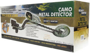 BOUNTY HUNTER COMMANDO METAL DETECTOR - Find lost Gold $$$ - Get rich and move to Florida!