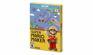 Super Mario Maker Wii U - Brand new never opened