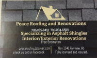 Peace roofing