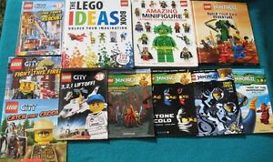 Lego Book Collection & Star Wars DVD