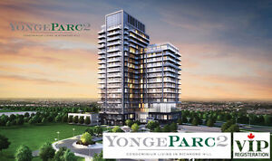 Yonge Parc 2 Condo is Selling Now - REGISTER NOW!