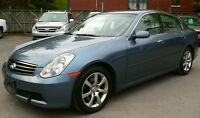 2005 Infiniti G35***excellent***ONE OWNER**LOW MILEAGE 100,000KM