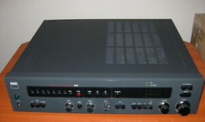 Récepteur NAD 7100 Receiver -  NAD 1600 Pre-Amp Tuner Rare