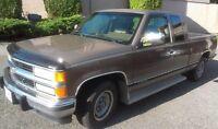 1994 Chevrolet Silverado 2500 Pickup Truck Extended Cab