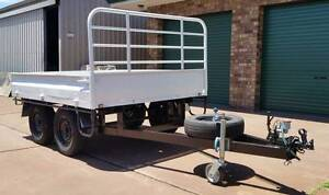 Custom made heavy duty tandem trailer.  Plant Trailer – flat top Perth Perth City Area Preview