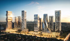 New  Condos near Square one, priced from $200,000's