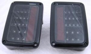 Recon LED Tail Lights - Jeep Wrangler JK