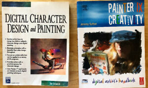 Livres Digital Design and Painting