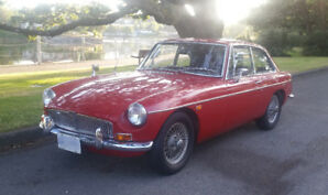 1969 MGB GT (Original, unrestored)