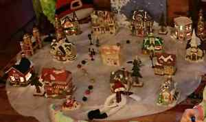 Christmas village.  Kitchener / Waterloo Kitchener Area image 1