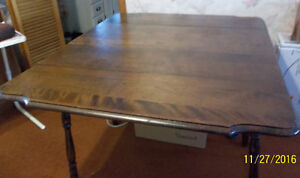 Double Drop Leaf Table Solid Wood Construction Kawartha Lakes Peterborough Area image 2