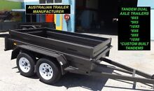AUSTRALIAN MADE 10X6 HIGH SIDE HEAVY DUTY TANDEM TRAILER Warwick Southern Downs Preview