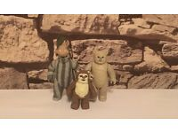 Vintage Star Wars figures lumat, Teebo and wicket