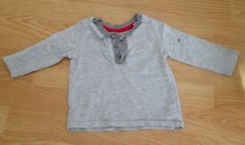 2x 6-9 month long sleeve tops