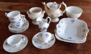 Antique child's tea set