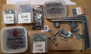 Screws, Bolts, Nails, Brackets, Washers