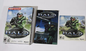 Halo Combat Evolved PC CD-ROM Complete w/Manual & Key