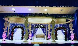 Wedding decoration , wedding mandap, wedding stages, chair covers, Centerpices, crockery