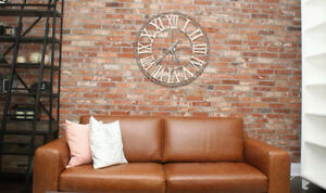 Old Loft Brick - 100 Year Old Reclaimed Brick -Cut into Veneer