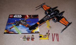 Complete Lego Set - Poe's X-wing Fighter (75102)