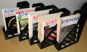 34 Astronomy magazines 1988 a 1994 (contenu english contents)