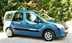 2012/62 CITROEN BERLINGO MULTISPACE PLUS SPECIAL EDITION. 1.6 HDI. 46,000 MILES