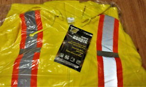 Brand new safety hoodies and safety shirts