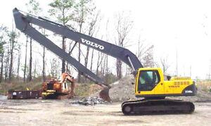 Long Reach Excavator Booms