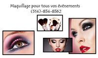Maquillage professionnel pour vos évènements