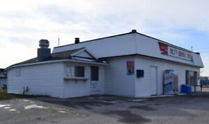 Prime Business location (lot+building) for sale in Sarnia