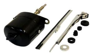 Wiper Motor Kit 12V Black Universal  for Jeep Willys CJ3B  CJ5 CJ6 Crown 12V