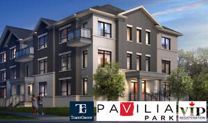 PAVILIA PARK TOWNS IN THORNHILL--REGISTER NOW AS A VIP CLIENT