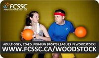 Play For-Fun, Co-ed, Recreational Adult Dodgeball in Woodstock!