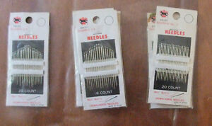 various Sewing Crown Horse Needles West Island Greater Montréal image 4
