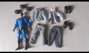 Superman Action Figure with all accessories-$10