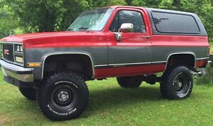 K5 Jimmy Blazer Full size GMC