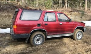 1995 TOYOTA 4 DOOR 4Runner
